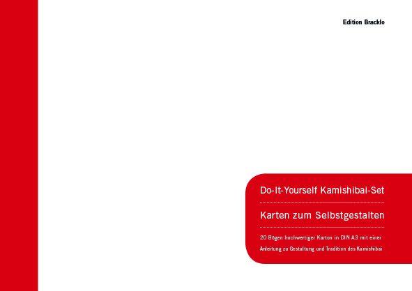 (Deutsch) Do-It-Yourself Kamishibai-Set